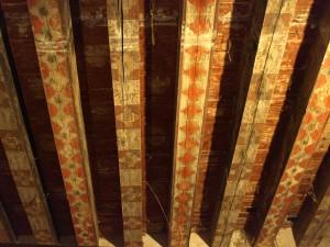 Plafond de Pieusse, XIIIe-XIVe s. CC : PO. Dittmar