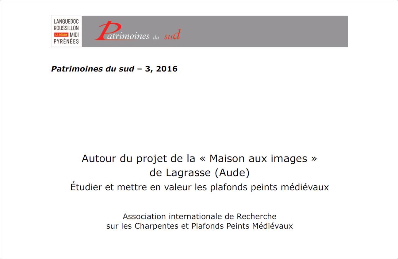 """""""Autour du projet de la """"Maison aux Images"""" de Lagrasse"""